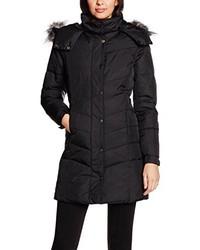 Abrigo de plumón negro de Only
