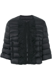 Abrigo de plumón negro de RED Valentino