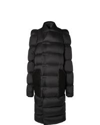 Abrigo de plumón negro de Rick Owens