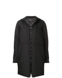 Abrigo de plumón negro de Salvatore Ferragamo