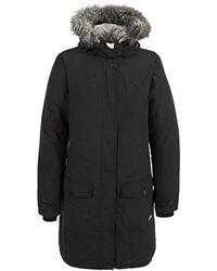 Abrigo de plumón negro de Trespass