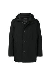 Abrigo de plumón negro de Woolrich