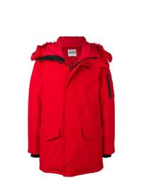 Abrigo de plumón rojo de Kenzo