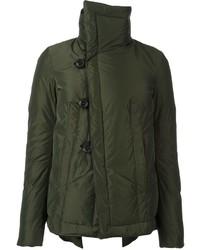 Abrigo de plumón verde oliva de Dsquared2