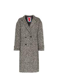 Abrigo de tweed gris de Adaptation