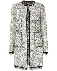 Abrigo de Tweed Gris de Giambattista Valli