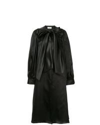 Abrigo duster negro de Isabel Sanchis