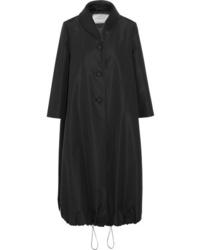 Abrigo duster negro de Prada