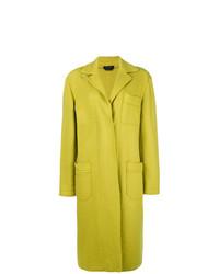 Abrigo en amarillo verdoso de A.N.G.E.L.O. Vintage Cult