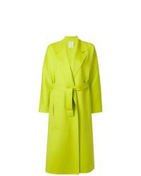 Abrigo en amarillo verdoso de Maison Rabih Kayrouz