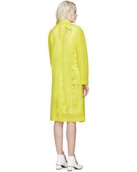 Abrigo en amarillo verdoso de Emilio Pucci