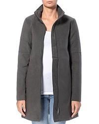 Abrigo en gris oscuro de Jacqueline De Yong