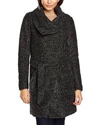 Abrigo en gris oscuro de Only