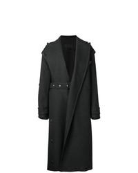 Abrigo en gris oscuro de Proenza Schouler