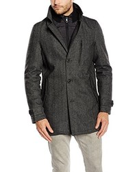 Abrigo en gris oscuro de Tom Tailor