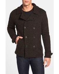 Abrigo en marrón oscuro