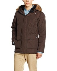 Abrigo en marrón oscuro de Dickies