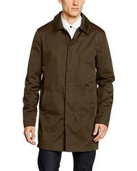 Abrigo en marrón oscuro de Lindbergh