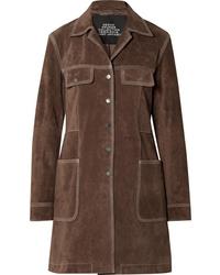 Abrigo en marrón oscuro de Marc Jacobs