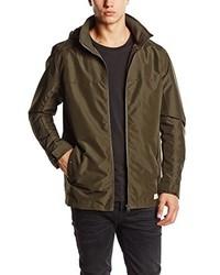 Abrigo en marrón oscuro de Selected