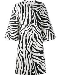 Abrigo estampado en blanco y negro de ADAM by Adam Lippes