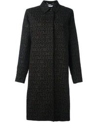 Abrigo estampado negro de Givenchy
