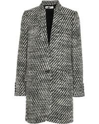 Abrigo Geométrico Negro y Blanco de Stella McCartney