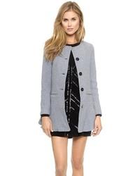 Abrigo gris de Glamorous