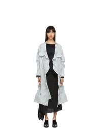 Abrigo gris de Issey Miyake