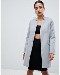 Abrigo gris de Missguided