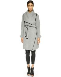 Abrigo gris de Vince