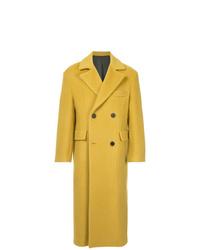 Abrigo largo amarillo de Wooyoungmi