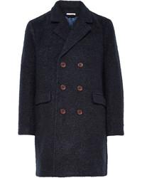 Abrigo largo azul marino de Gant