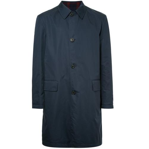 Abrigo largo azul marino de Gieves & Hawkes