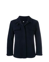 Abrigo largo azul marino de Holland & Holland