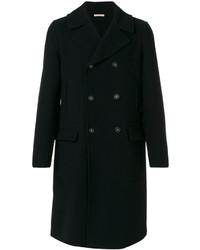 Abrigo largo azul marino de Massimo Alba