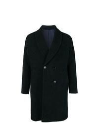 Abrigo largo azul marino de Mp Massimo Piombo
