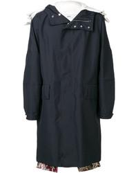 Abrigo largo azul marino de Oamc