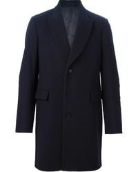Abrigo largo azul marino de Paul Smith