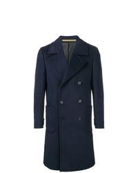 Abrigo largo azul marino de Ps By Paul Smith