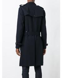 Abrigo largo azul marino de Kolor