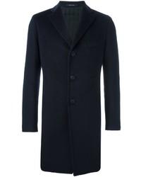 Abrigo largo azul marino de Tagliatore
