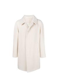 Abrigo largo blanco de Maison Margiela