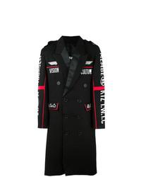 Abrigo largo bordado negro de Ktz
