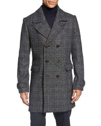 Abrigo largo de tartan original 431754