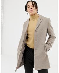 Abrigo largo en beige de Harry Brown