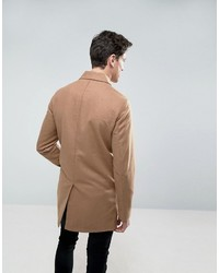 Abrigo largo en beige de Jack and Jones
