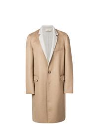 Abrigo largo en beige de Maison Flaneur