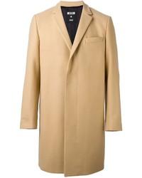 Abrigo largo en beige de MSGM