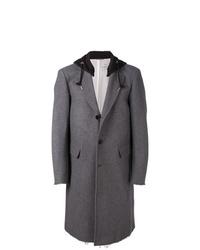 Abrigo largo en gris oscuro de Diesel